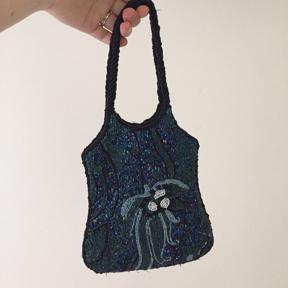 10df1316d54b Bloomingdale's Bags | Vintage Beaded Designer Purse From ...